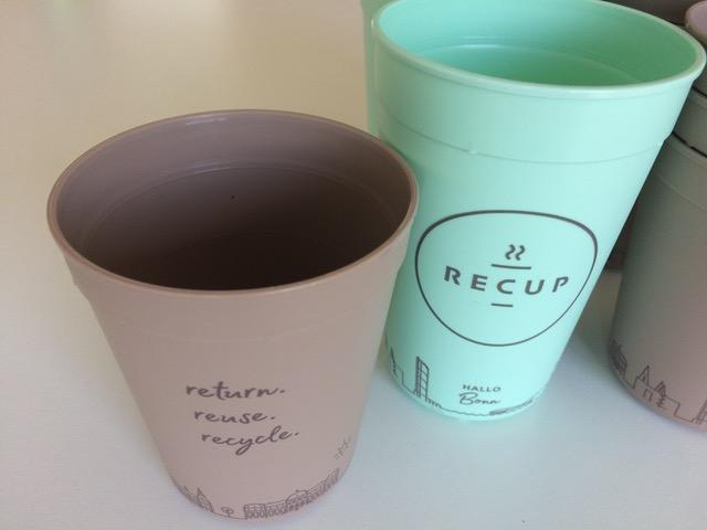 Coffee-to-go im RECUP-Pfandbecher