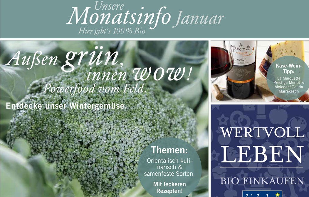Ideen & Angebote im Januar