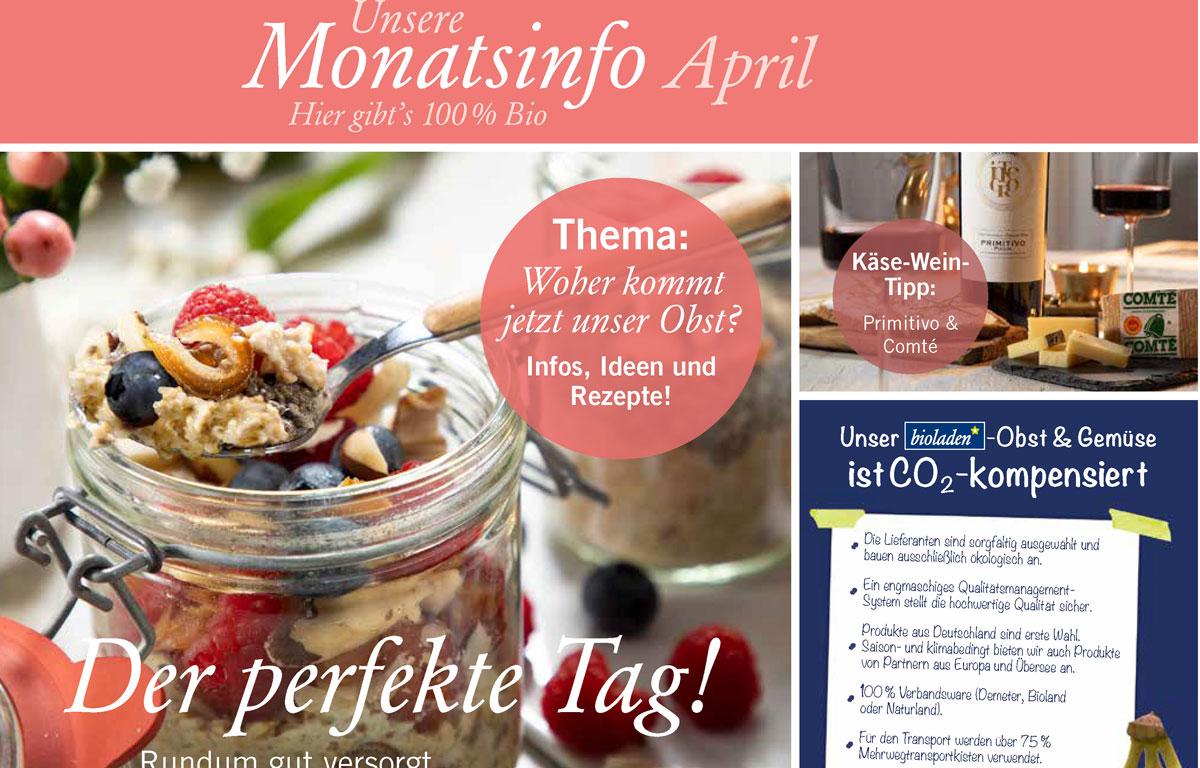 Ideen & Angebote im April